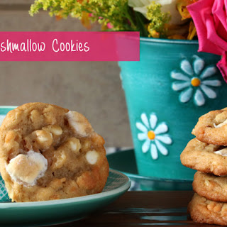 Salty Marshmallow Cookies