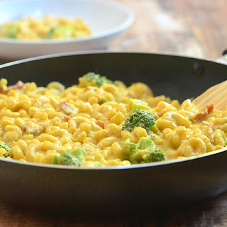 One-Pan Butternut Squash Macaroni and Cheese.