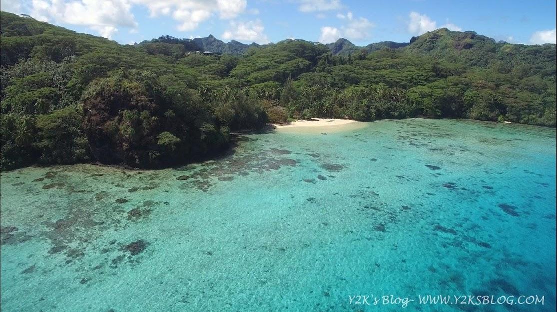 Spiaggetta a Sud Est del Motu Vaiorea - Huahine