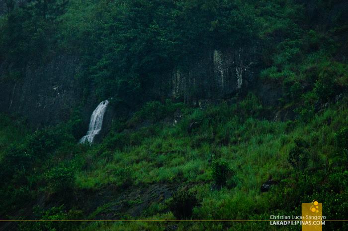 Ella to Colombo Train Waterfalls