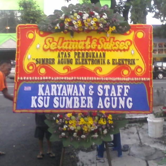 Bunga Papan Happy Wedding Jakarta