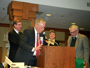Photo: Rick Courtright, Jim Brooks, Mary Ruth Coleman, James Gallagher