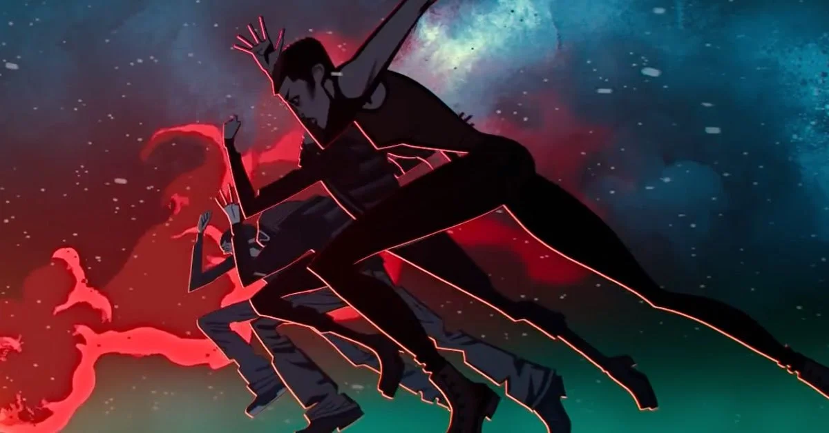 "Four humans jump in Netflix's second season of ""Love, Death & Robots."""