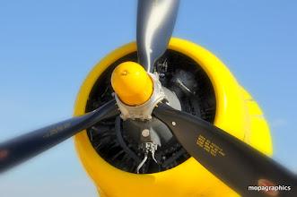 "Photo: avec son Pratt & Whitney R-2800-8W ""double Wasp"" de 2300 cv"