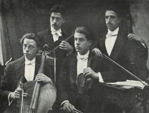 Photo: Quartet Renaixement febrer 1912