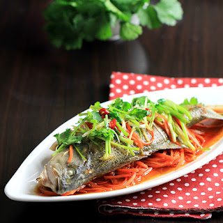 Chinese Steamed Fish.