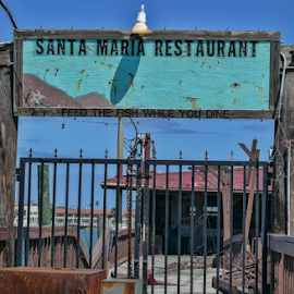 Sorry, we're closed by Gwen Paton - Buildings & Architecture Decaying & Abandoned ( florida, restaurant, st augustine, abandoned, water,  )
