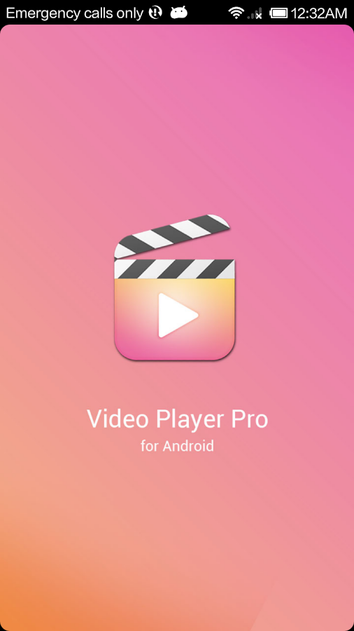 Video Player Pro for Android- screenshot