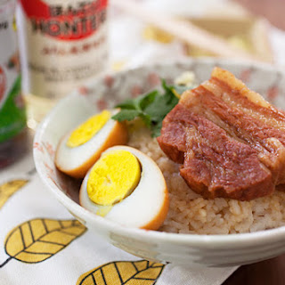 Taiwanese Braised Pork Belly Rice