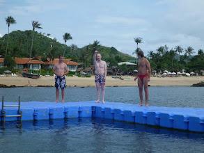Photo: Jako příklad může posloužit náš olympijský asynchronní skok do vody pod vedením trenéra Weira.