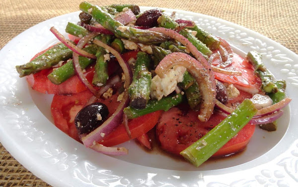 Greek Asparagus Salad Recipe