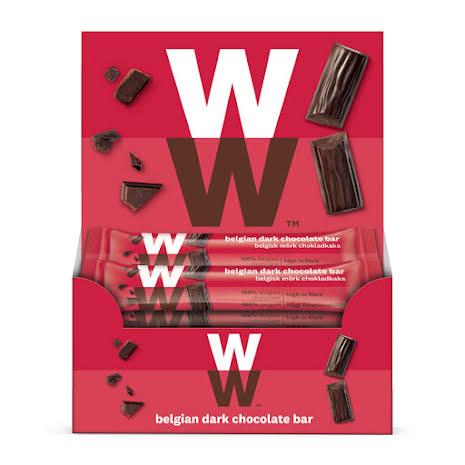 Belgisk mörk chokladkaka - 24-pack, 372g