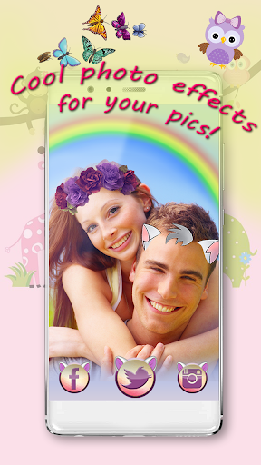 玩免費攝影APP|下載귀여운 스티커 및 꽃왕관 셀프카메라 앱 app不用錢|硬是要APP