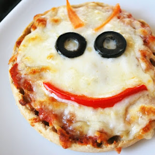 Not-So-Scary Monster Face Pizzas
