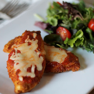 Skinny Chicken Parmesan Low Carb