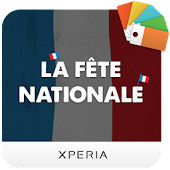 XPERIA™ La Fête Nationale Theme