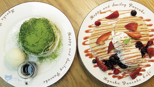 台北民生社區內的高人氣甜品九州鬆餅咖啡,不管草莓或是抹茶都足以讓人少女心大噴發!!!