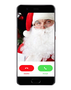 A Santa Claus Call And Gift Text - náhled