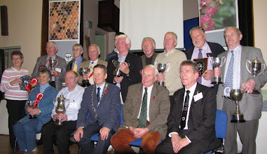 Photo: Roe Valley Honey Show winners at the INIB Annual Conference at Limavady November 2009
