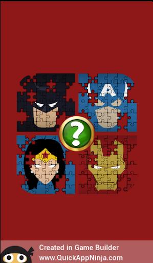 Guess Name That Superhero Puzzle Quiz  captures d'écran 5