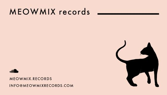 Meow Mix Records - Business Card Template