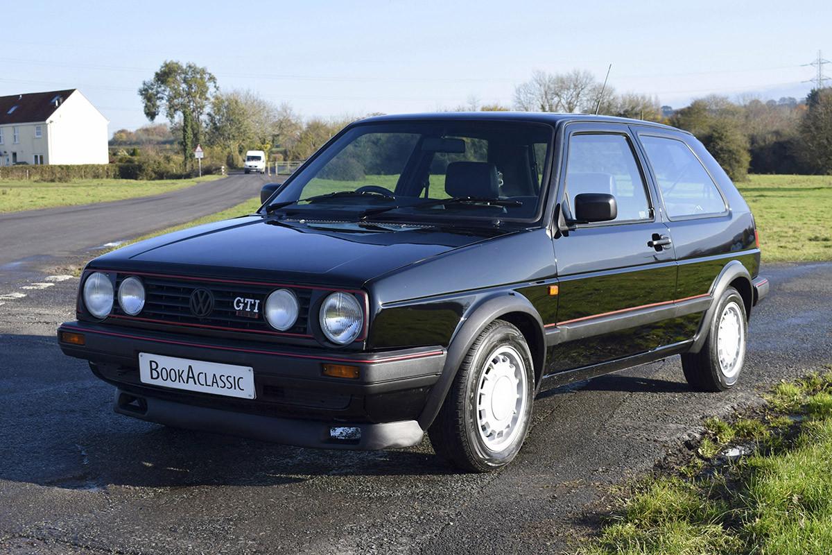 Volkswagen Golf Mk2 Gti Hire Bristol