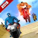 Super Hero Bike Mega Ramp 3 icon