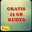 GRATIS 15 GB KUOTA icon