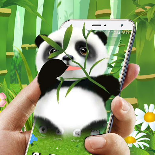 3D Cute Panda Theme App Report on Mobile Action - App Store