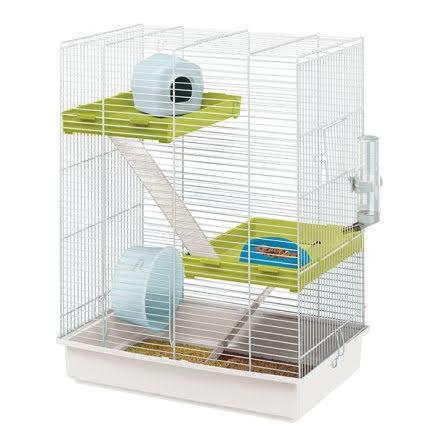 FP Triss 3 Våningar Hamsterbur Vit/Vit