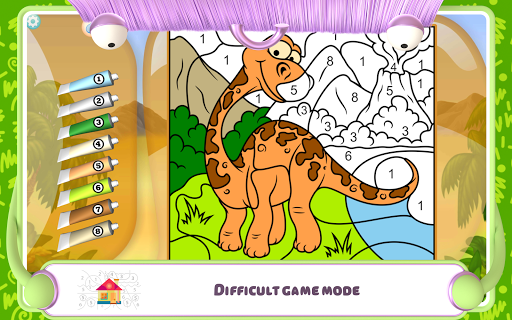 Paint by Numbers - Dinosaurs 2.2 screenshots 12
