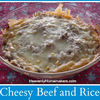 Cheesy Beef and RiceYum