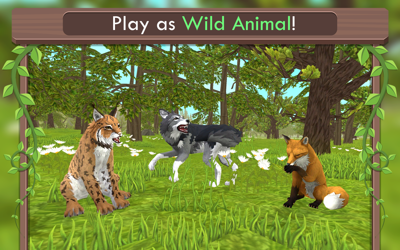 Wildcraft animal sim online 3d android apps on google play for Online 3d