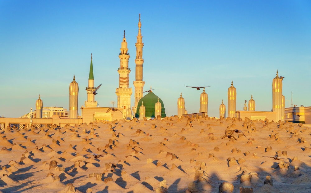 Jannatul Baqi, Nabawi, Madinah, Saudi Arabia