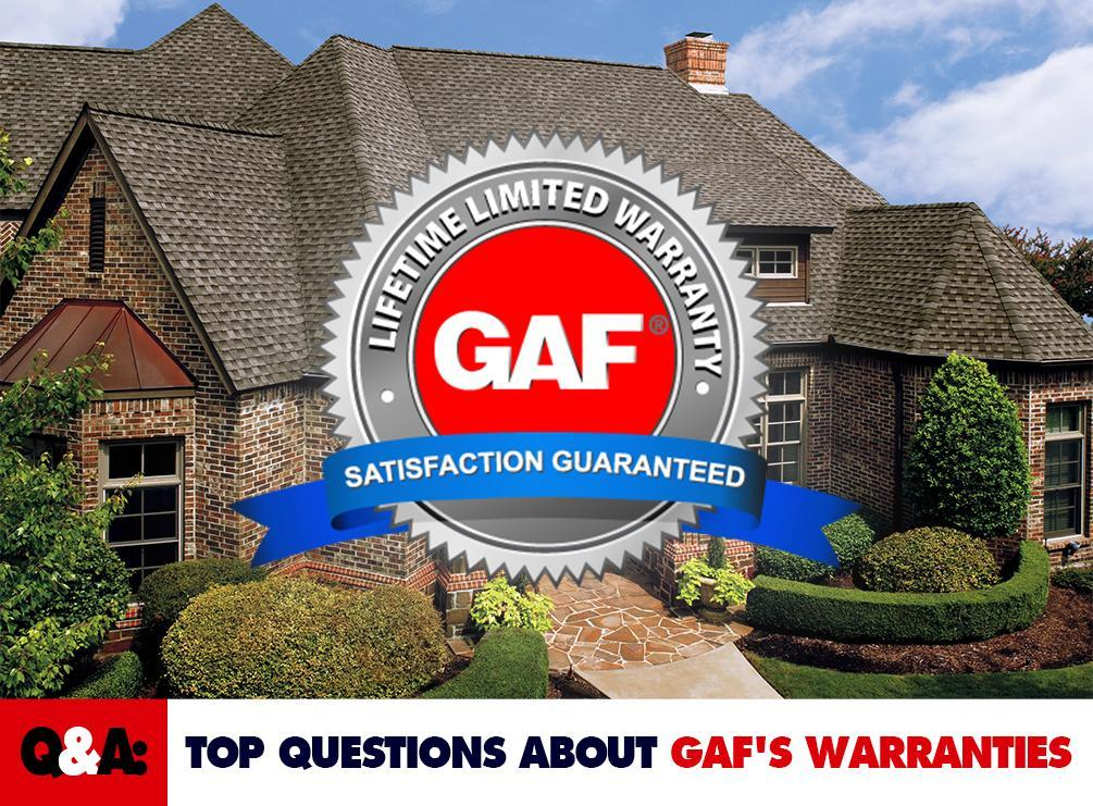 Q And A Top Questions About Gaf S Warranties