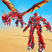 Flying Dragon Robot Simulator :Transformation War