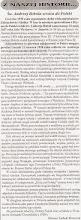 """Photo: Artykuł prasowy """"Wiadomości znad Piotrówki""""."""