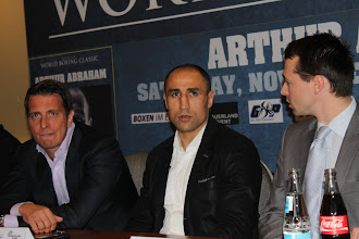 Photo: Arthur Abraham Berlin, Germany won 31 (KO 25) + lost 1 (KO 0) + drawn 0 = 32