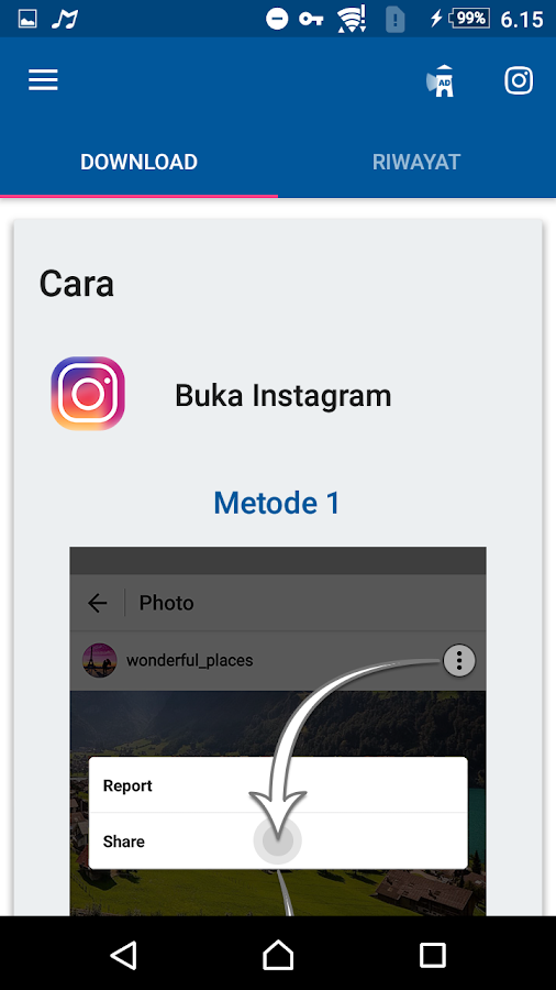 Video Downloader for Instagram- screenshot