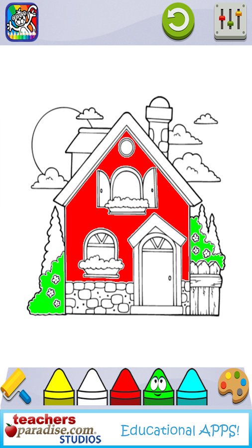 Coloring Book for Kids- screenshot