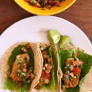 Fish Tacos with Pico De Gallo Recipe