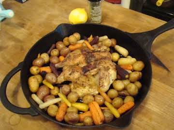Herbs de Provence Butterflied Game Hen