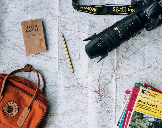 Confira como planejar uma viagem.