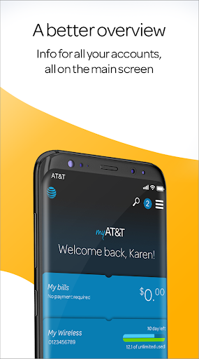 Screenshot for myAT&T in United States Play Store