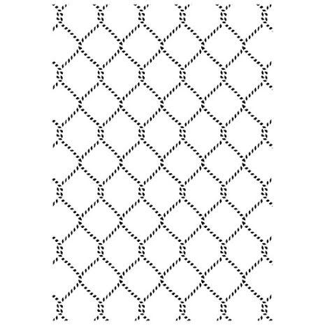 Kaisercraft Embossing Folder 4X6 - Netting