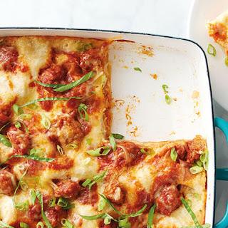 Ginger Pork Wonton Lasagna