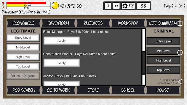 Life Simulator apk screenshot