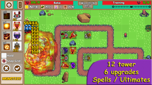 Tower Defense School - Online TD Battles Strategy apktram screenshots 10