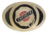 Bältesspänne Chrysler oval