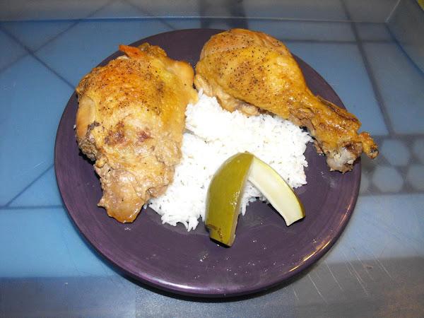 Oven Adobo Chicken Recipe